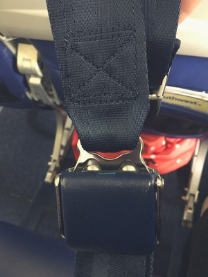 Flying While Fat, Seatbelt Extender