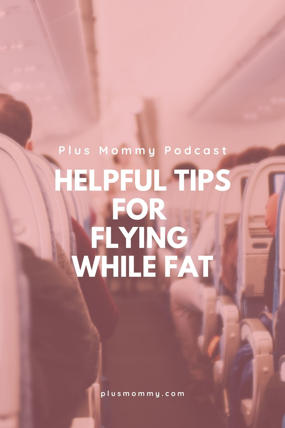 image text - helpful tips flying while fat