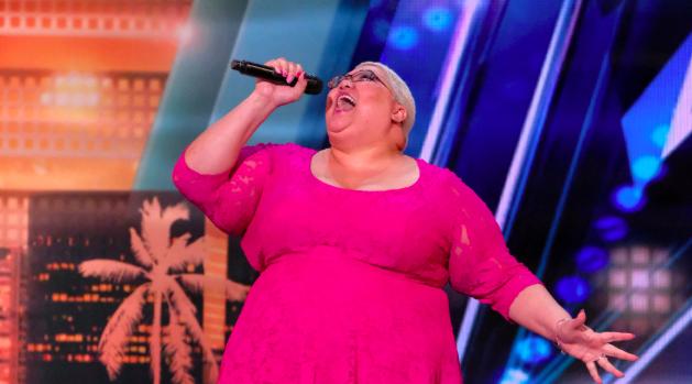 Christina Wells on America's Got Talent