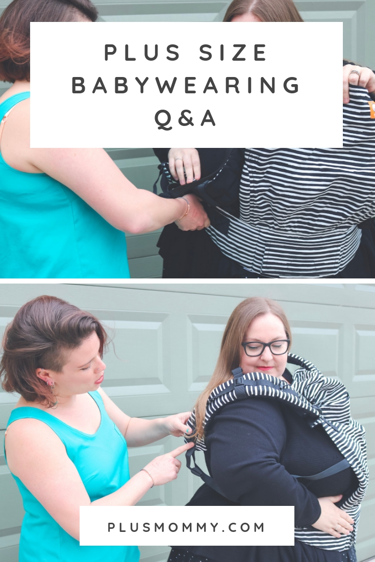 sale online exquisite style on feet at Plus Size Babywearing Q&A | Plus Mommy