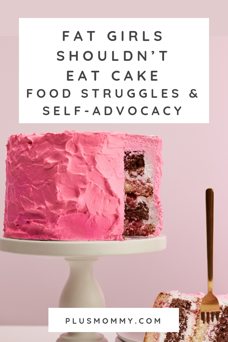 Pink cake with a pink background