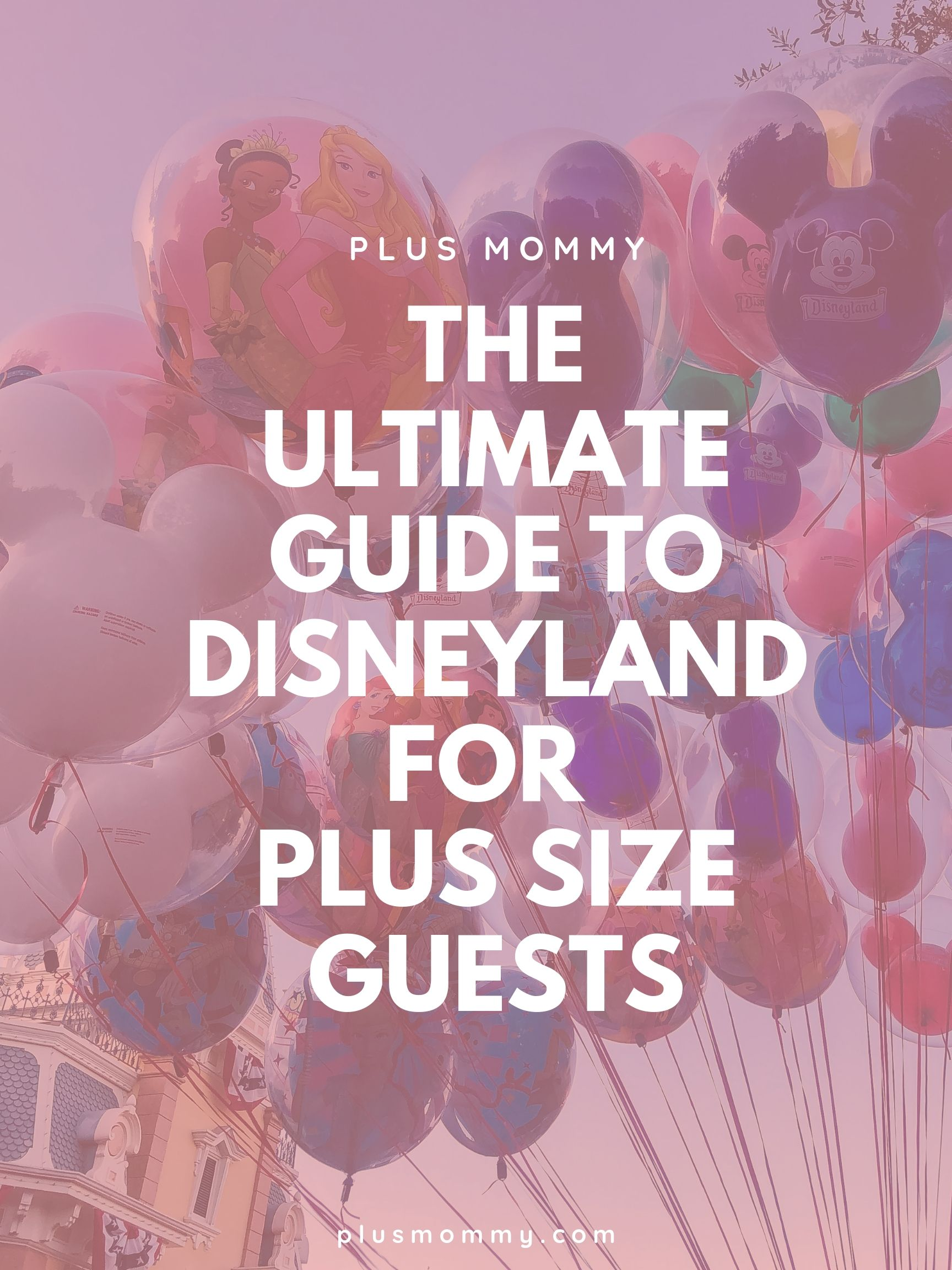Disneyland For Plus Size Guests Guide