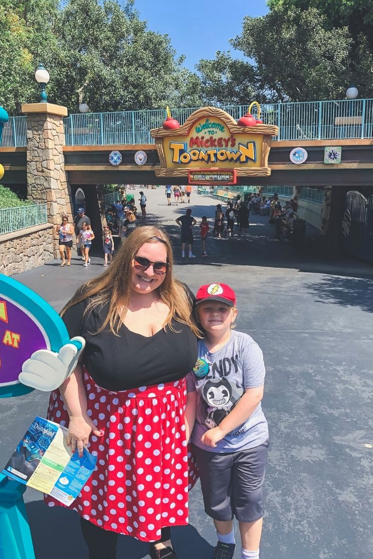 Toon Town Disneyland for plus size guests