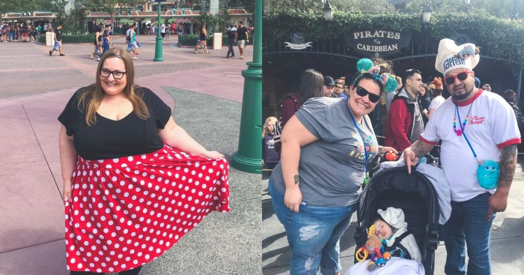 Ultimate Guide To Disneyland For Plus Size Guests, plus size moms at Disneyland