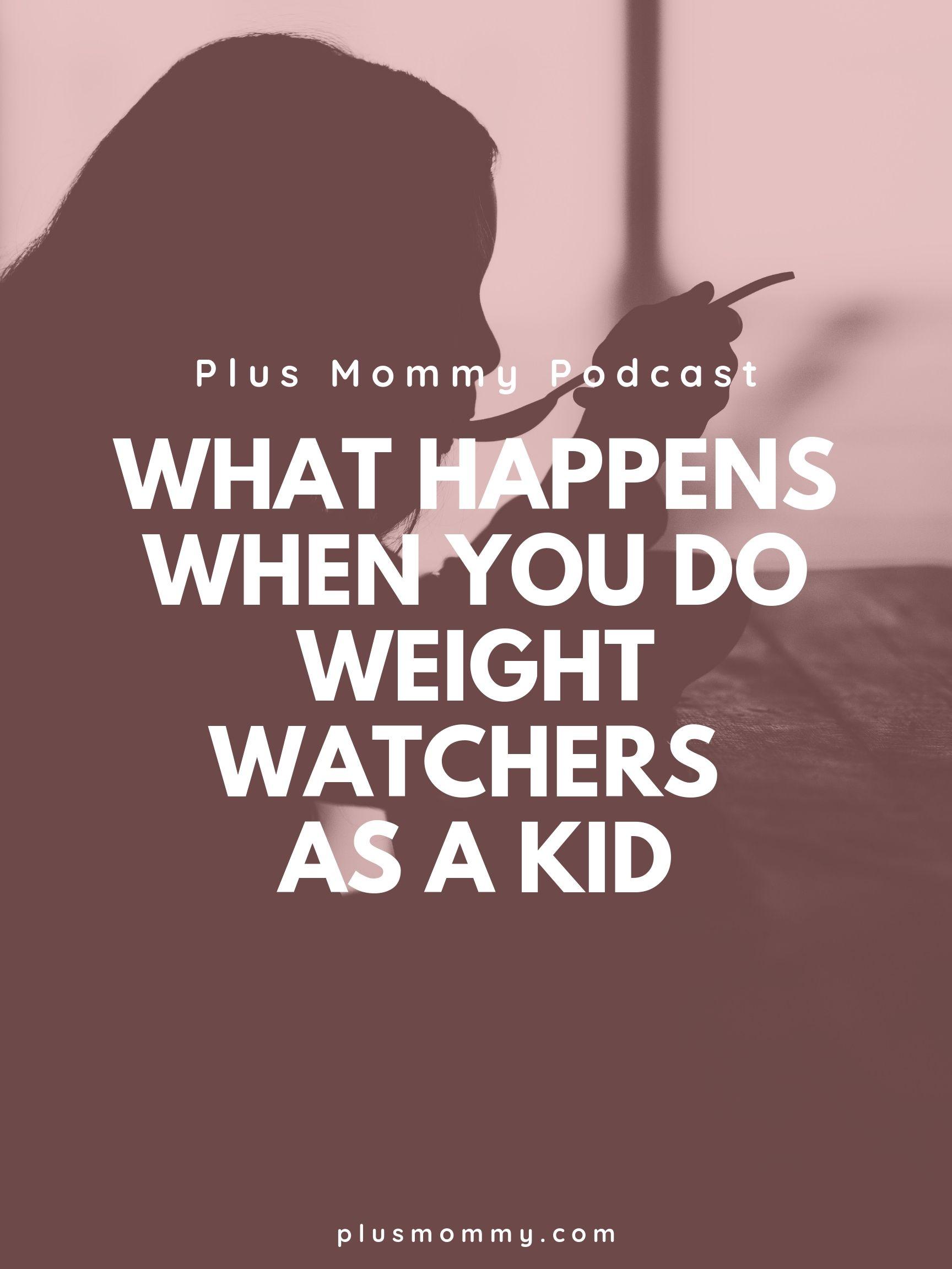 kid on Weight Watchers