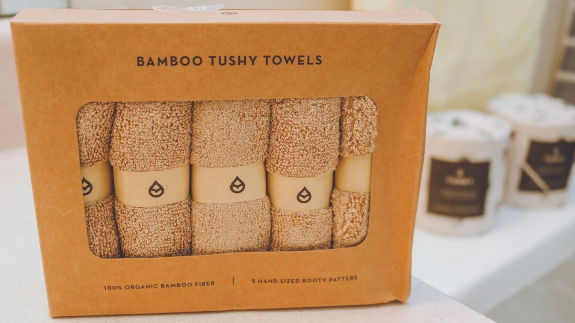 Bamboo Tushy Towels
