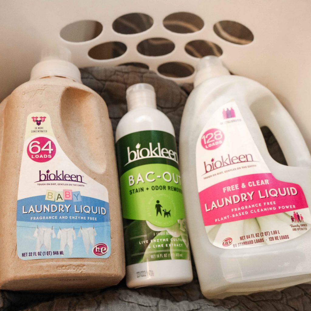 Biokleen cleaning products