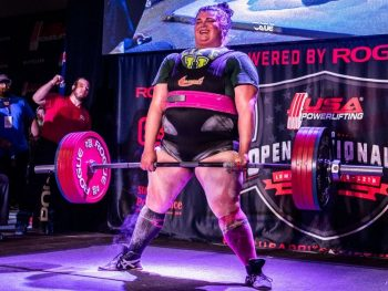 Champion Powerlifter Becci Holcomb