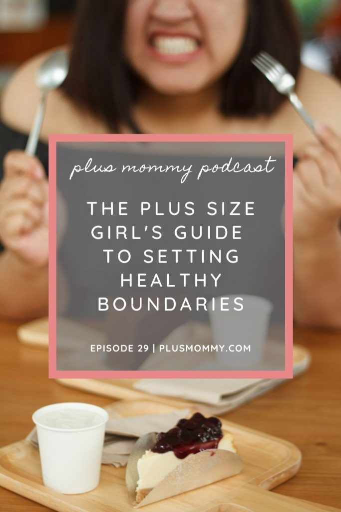 talking about how to set healthy boundaries.