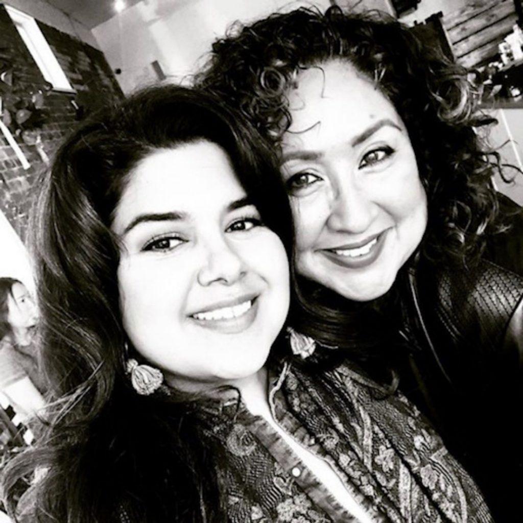 Ana Lydia Monaco and Marlene Luna