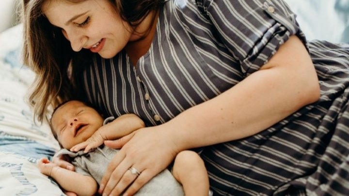 Plus Size With Hyperemesis Gravidarum after having her baby