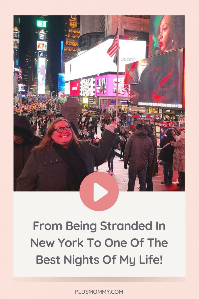 woman stranded in new york