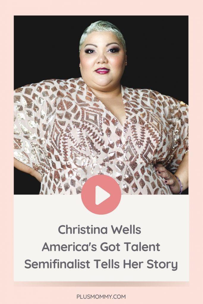 Image Text - Christina Wells America's Got Talent Semifinalist Tells Her Story